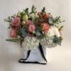 hydrangea bouquet pastel