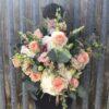 pastel hydrangea bouquet