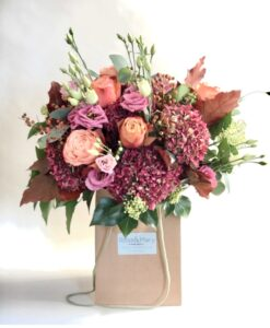 autumn bouquet pastel