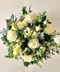 autumn bouquet white