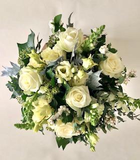 autumn bouquet white
