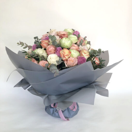 5 dozen roses