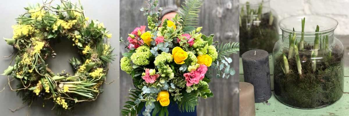 Spring flowers make a lovely gift for Easter, get them delivered in West London