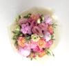 pastel peony bouquet top